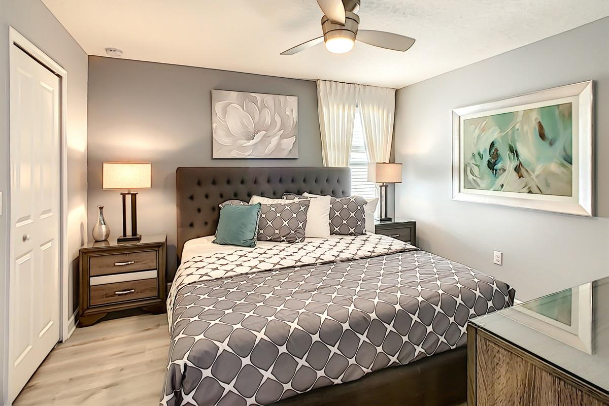 Bedroom #3-2nd Floor-King Bed