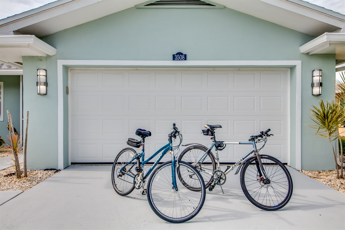 2 bikes for your use