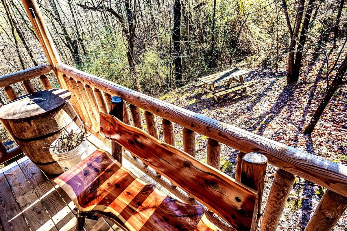 relaxing woods