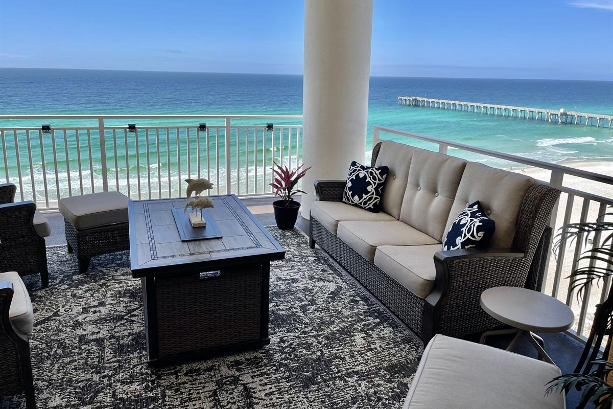 Balcony Luxury at its best!