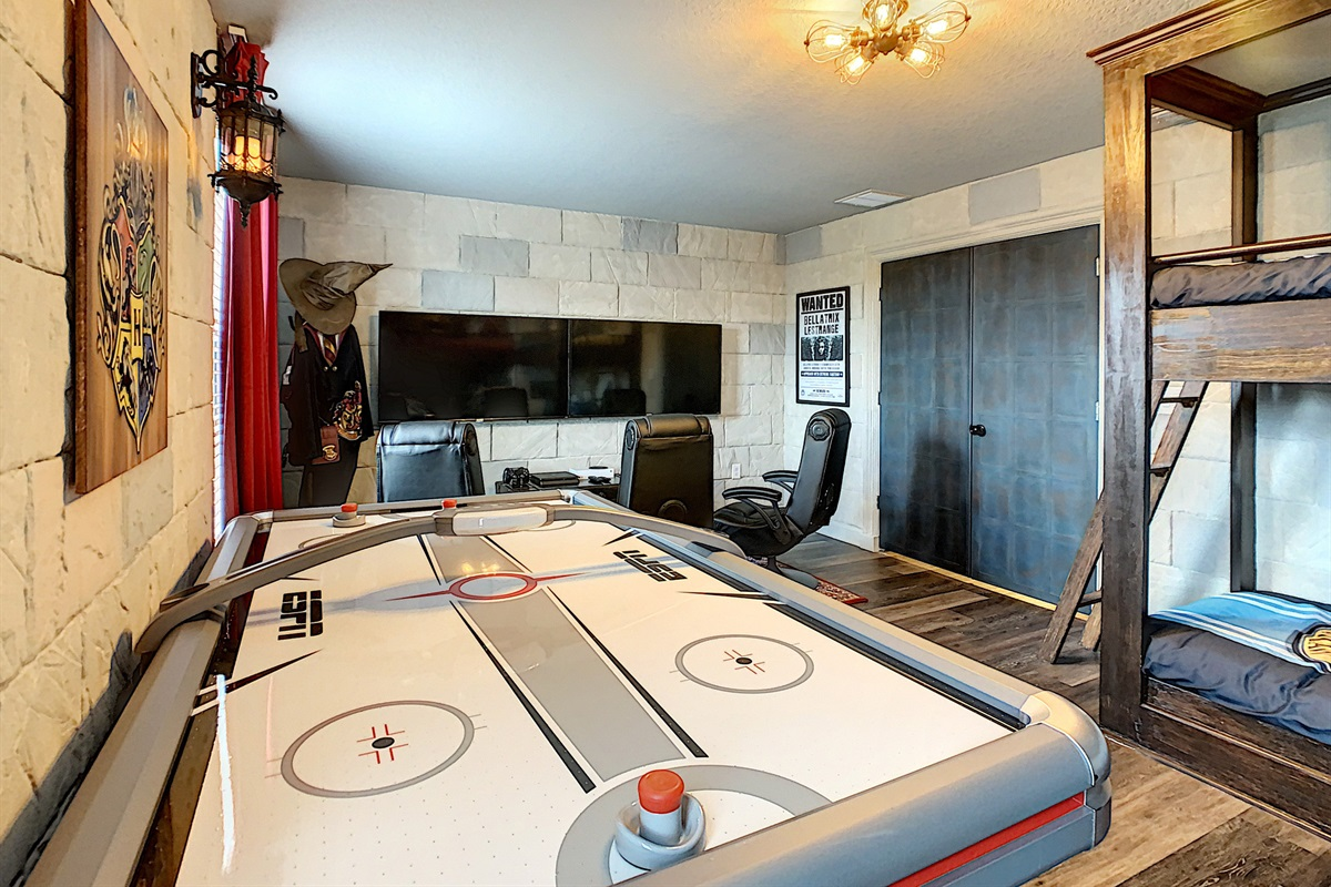 Combination Kids Bedroom And Game Room