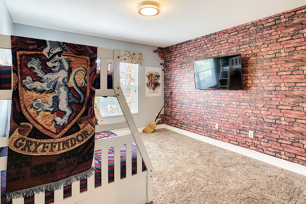 4th Bedroom - (Bunk Beds W/ Trundle - 2nd Floor)