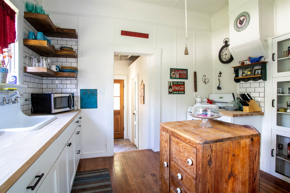 Make a home-cooked meal in our fully-equipped kitchen