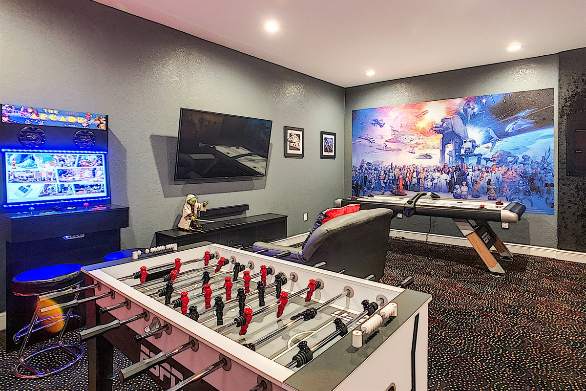 Game Room - Air Conditioned