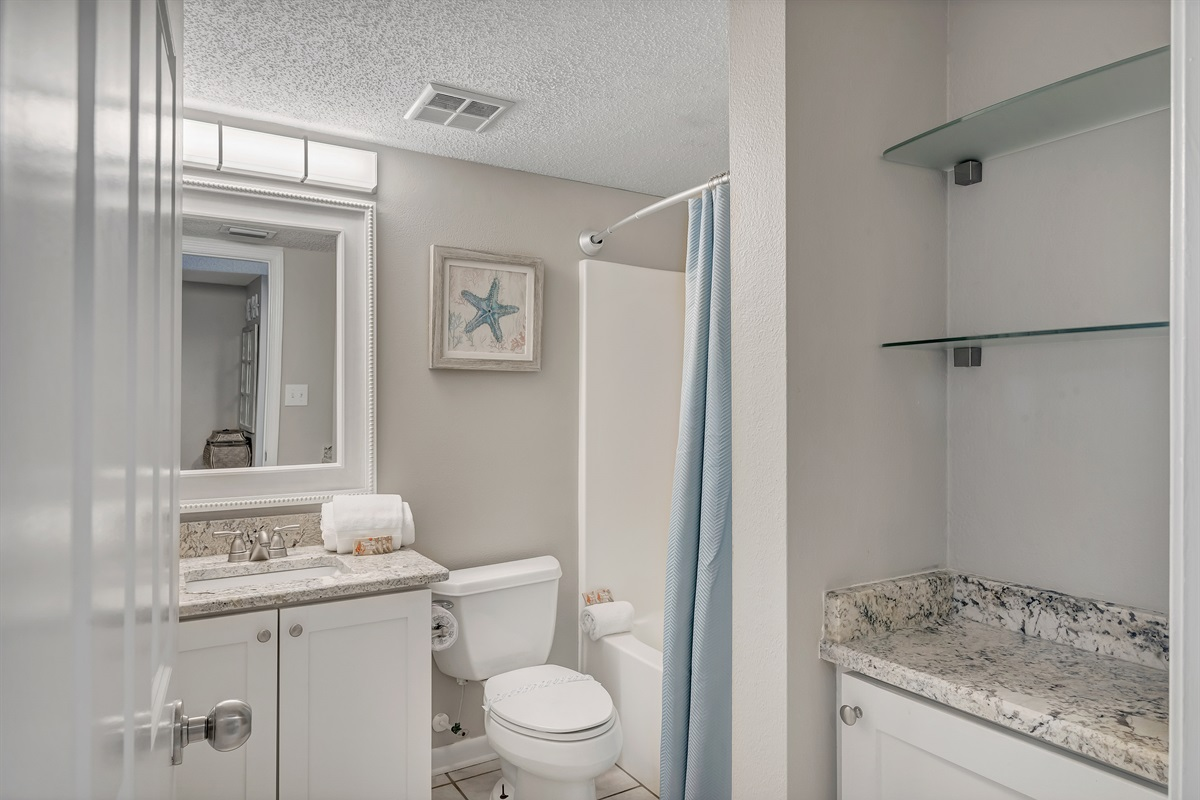 Bath with Shower/Tub Combo