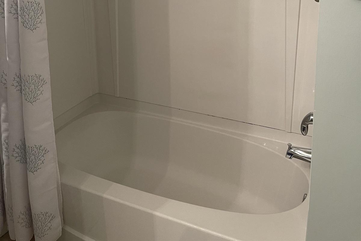 Bathtub/Shower combination