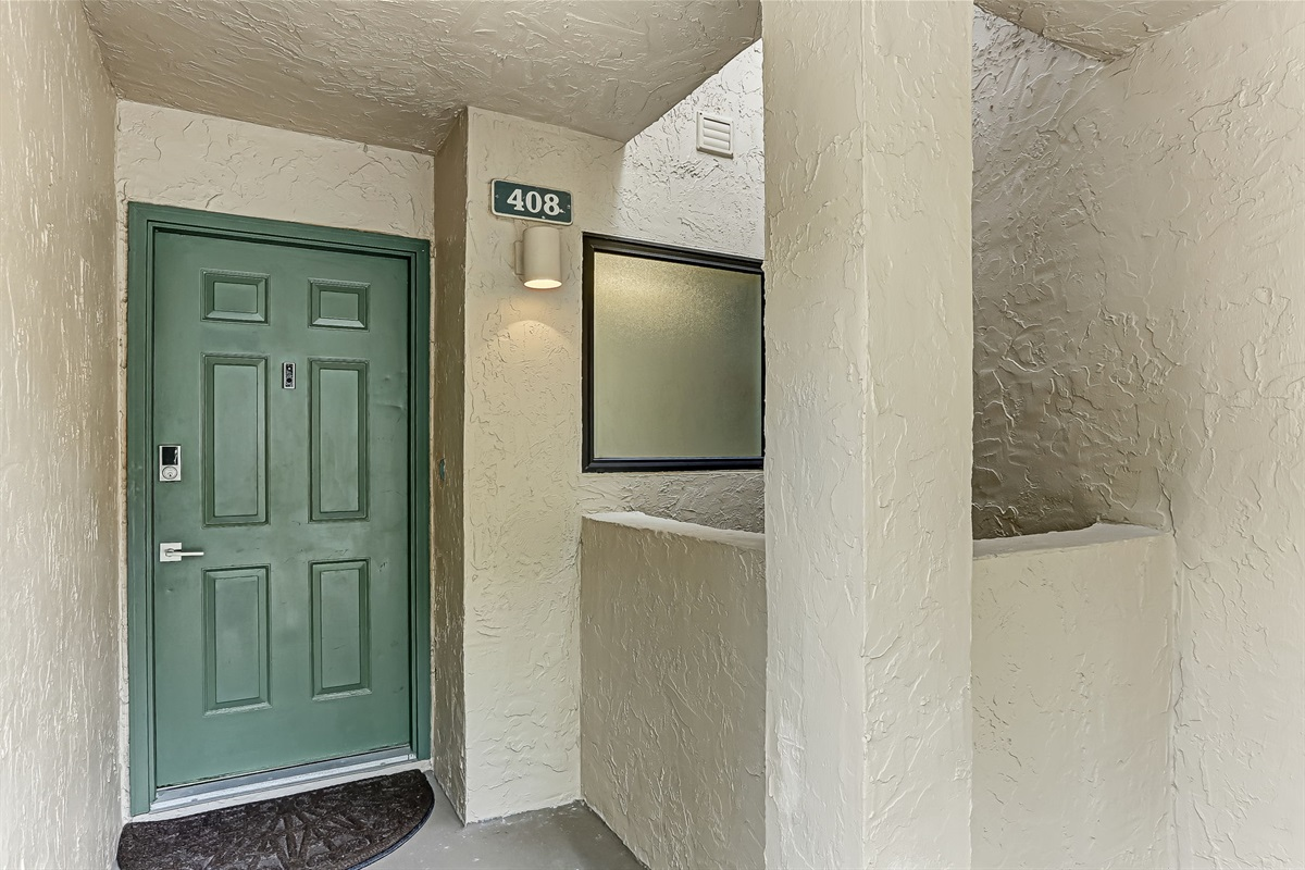 Entrance to Your Unit