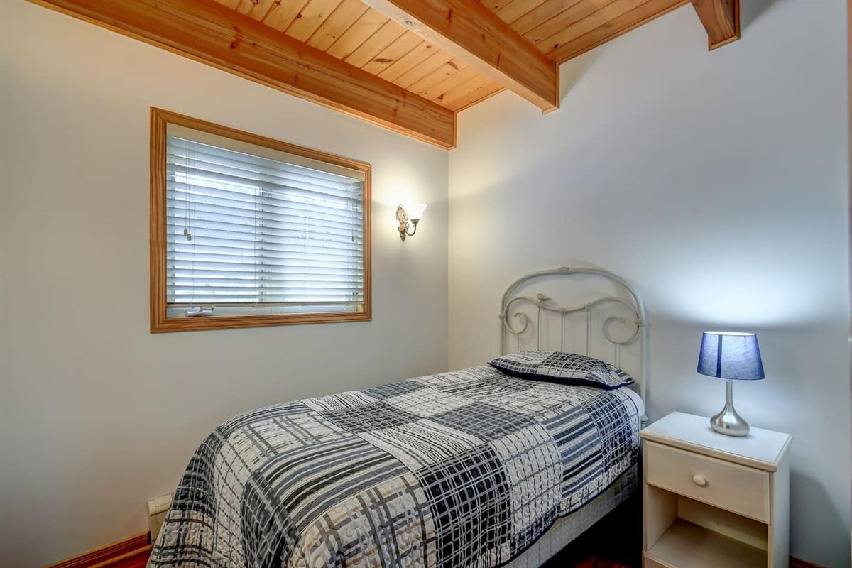 Bedroom off the main floor bedroom