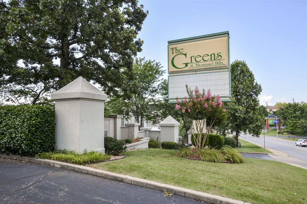 The Greens is located right in the heart of the Branson entertainment district