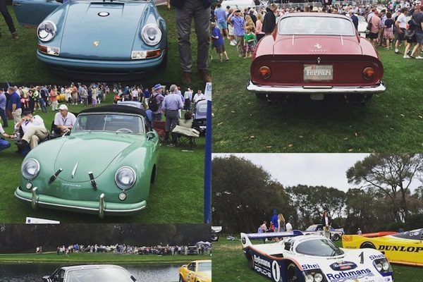 A sampling of Councours d'Elegance from years past.