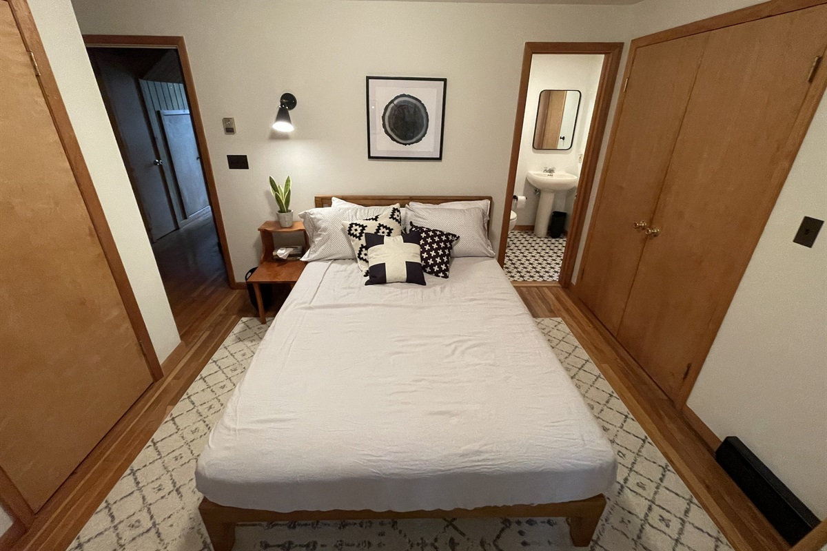 Bedroom #2 With Adjacent Half Bath