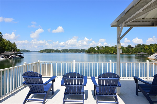 Soak up the sun on the dock's rooftop deck