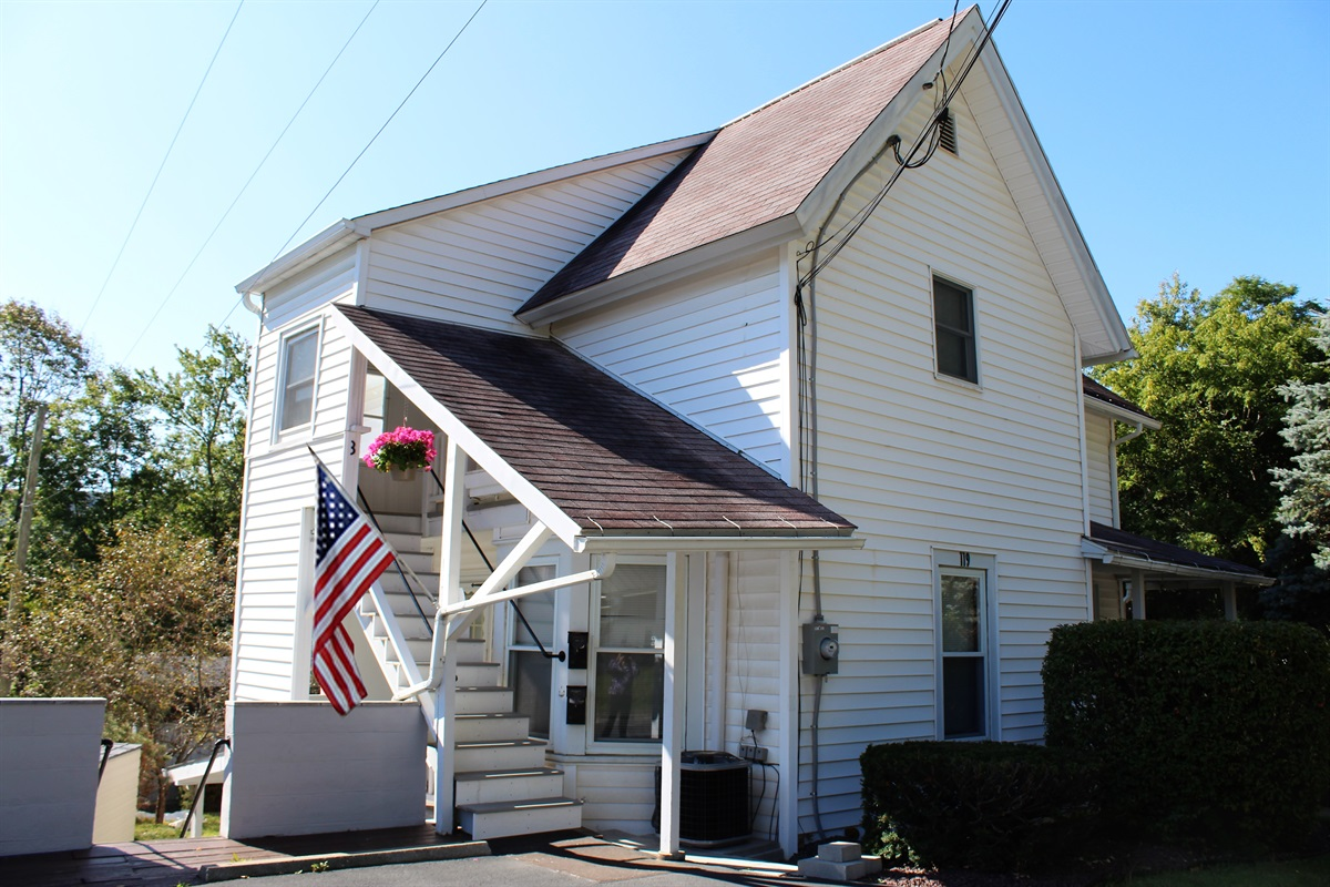Cooperstown Baseball Rentals - Third Baseman is an upstairs apartment just minutes from All Star Village, and within walking distance of downtown stores and restaurants.