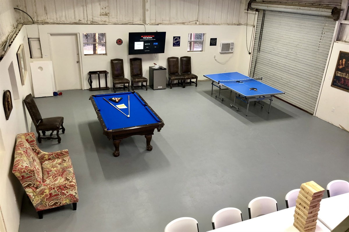 Pool, ping pong and more!