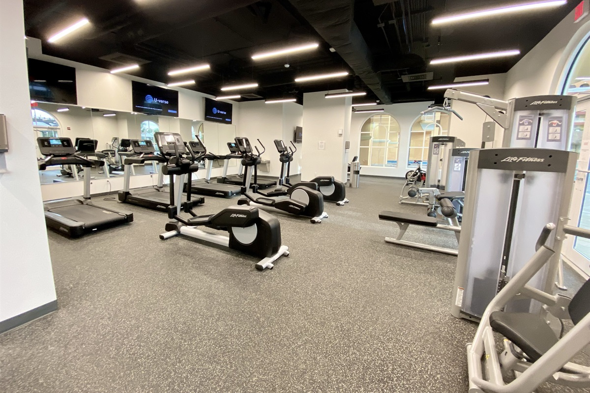 More of the gym