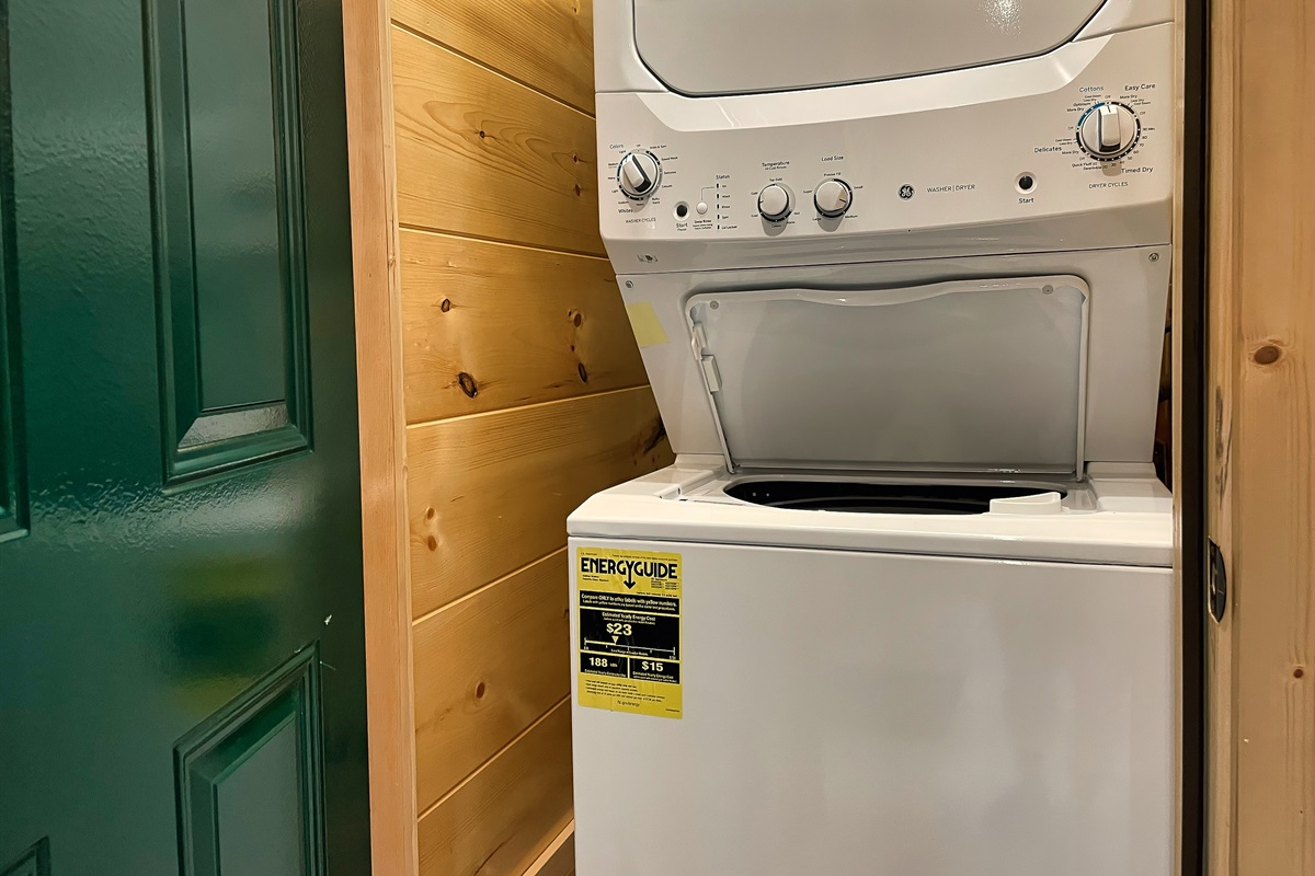 Washer and Dryer in Pool Room