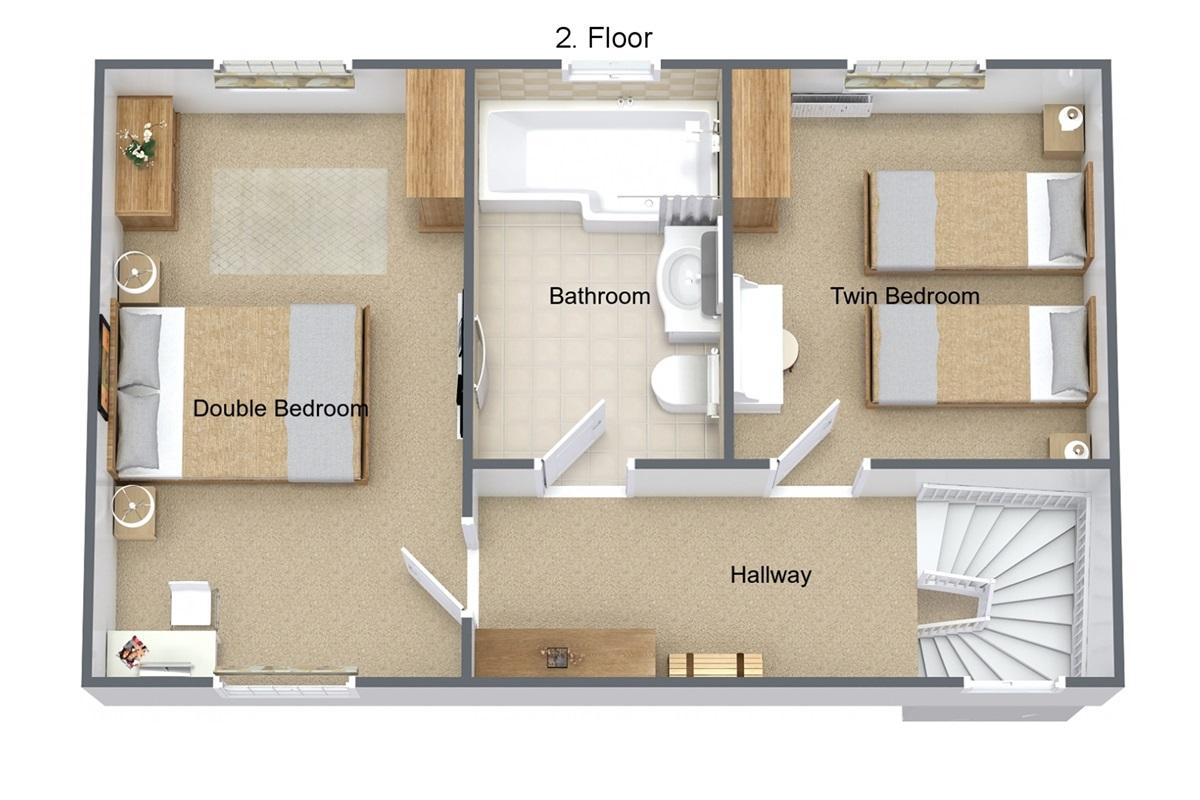 Floor plan - 1st