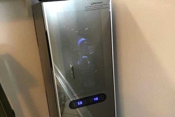 Wine fridge to store your favorite selections