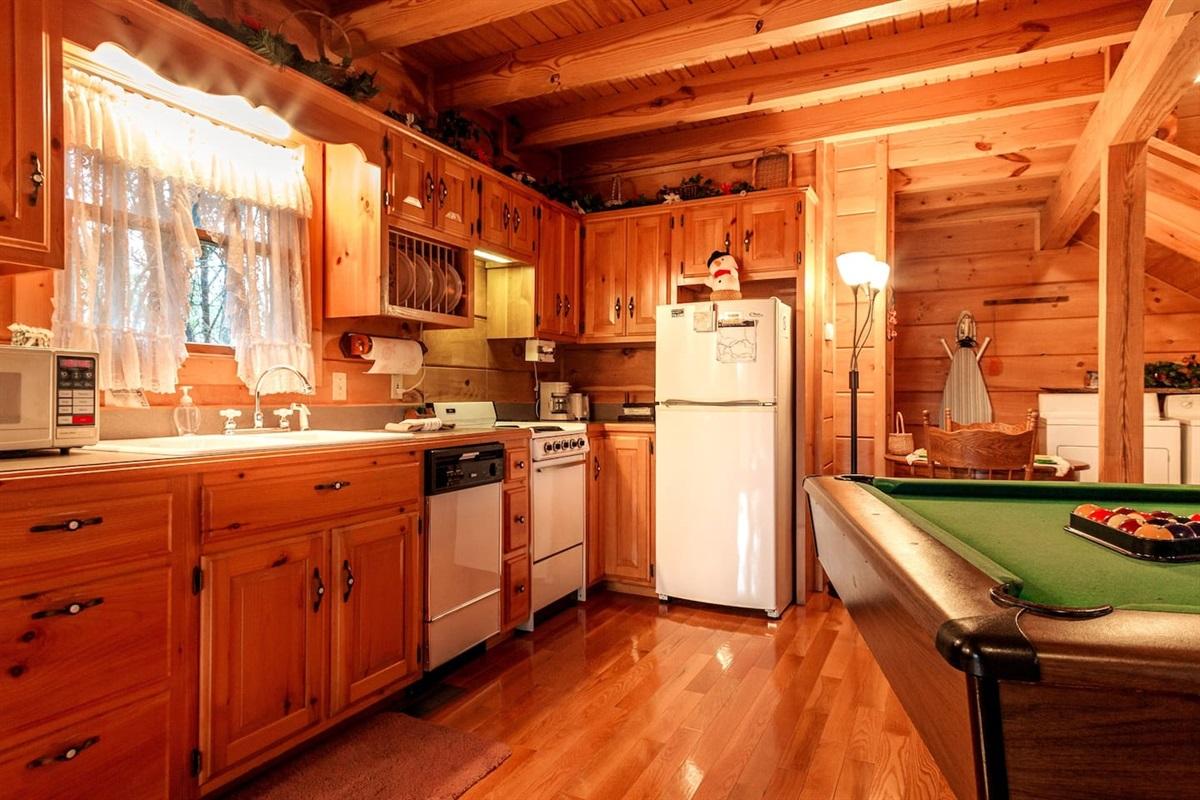 fully stock kitchen