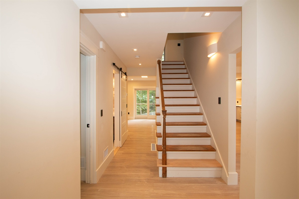Front Entrance Hallway and stairs