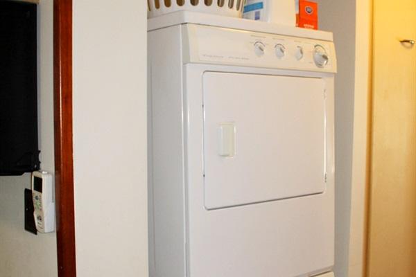 Laundry area on main level