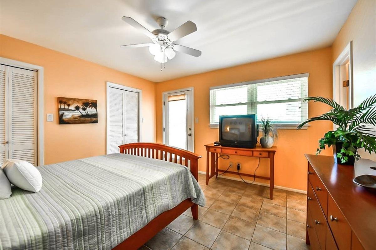 Primary Bedroom with en Suite Bathroom & Private Balcony