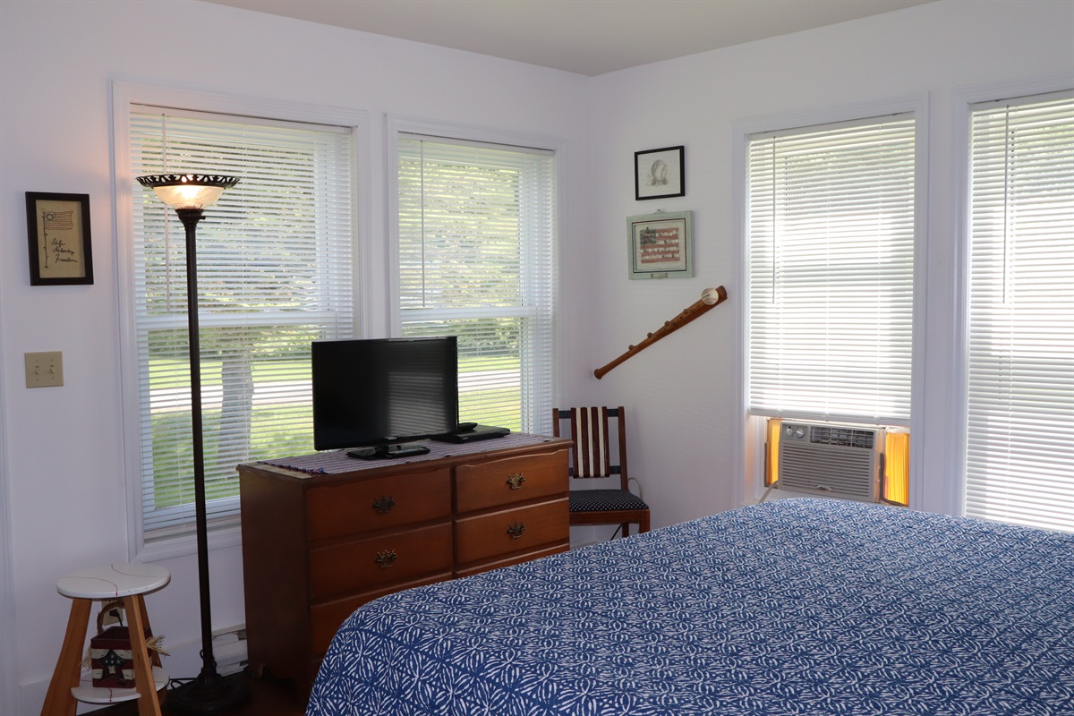 1st Floor King bedroom w/ TV