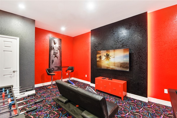 Star Wars Game Room