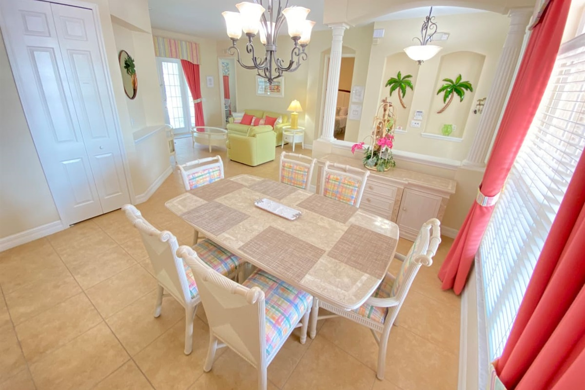 Dinning Room Inside and Outside