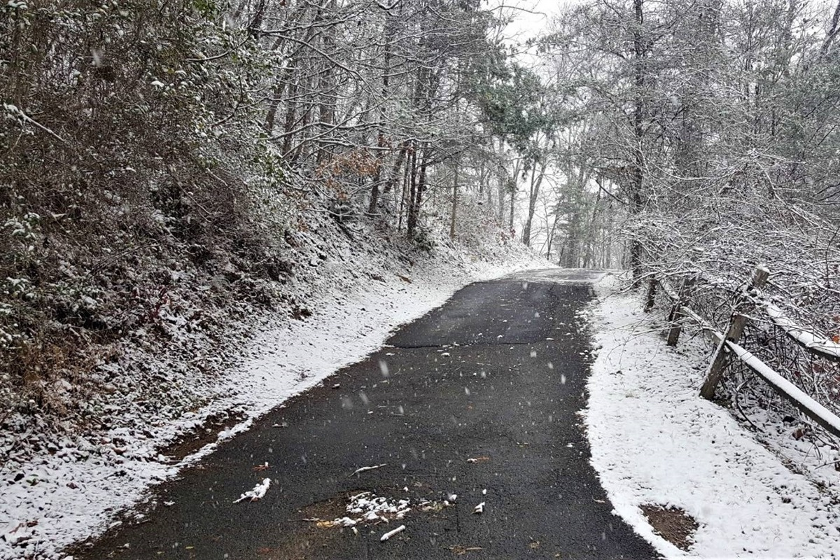 Early December 2017 snow