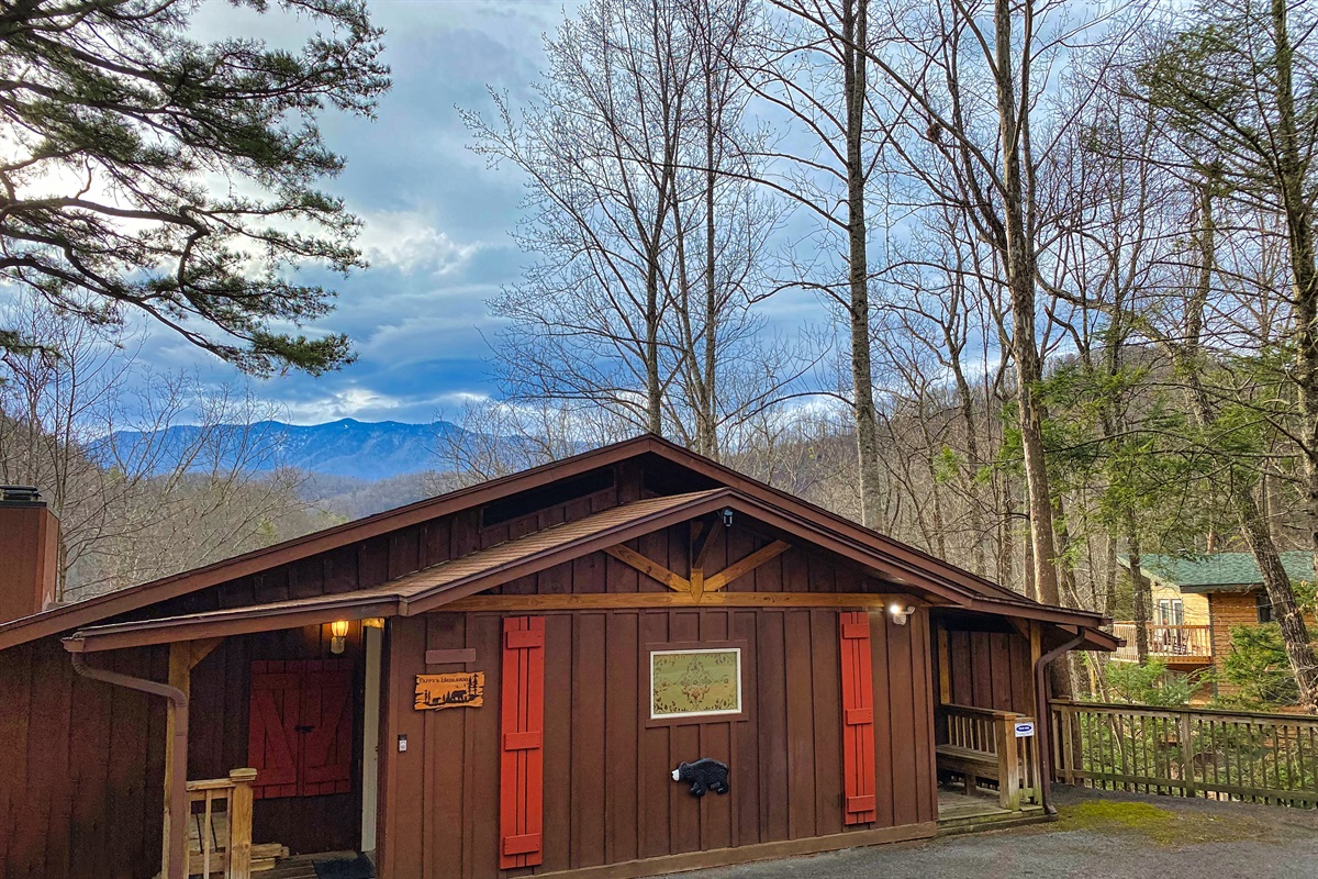 Pappy's Hideaway and Mt. LeConte