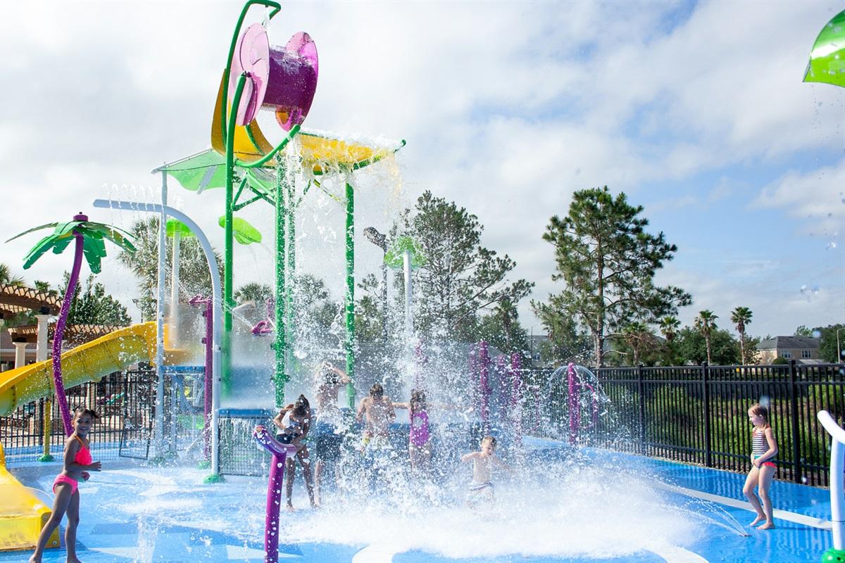 Water Park Splash Pool