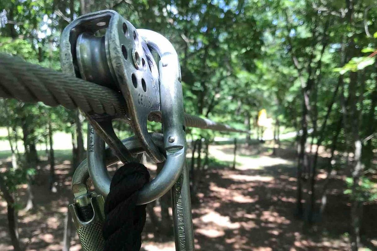 Bigfoot Adventure TN Zipline is 7 minutes from the Retreat