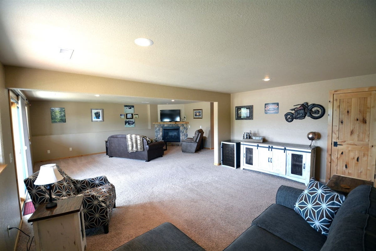 Downstair living area