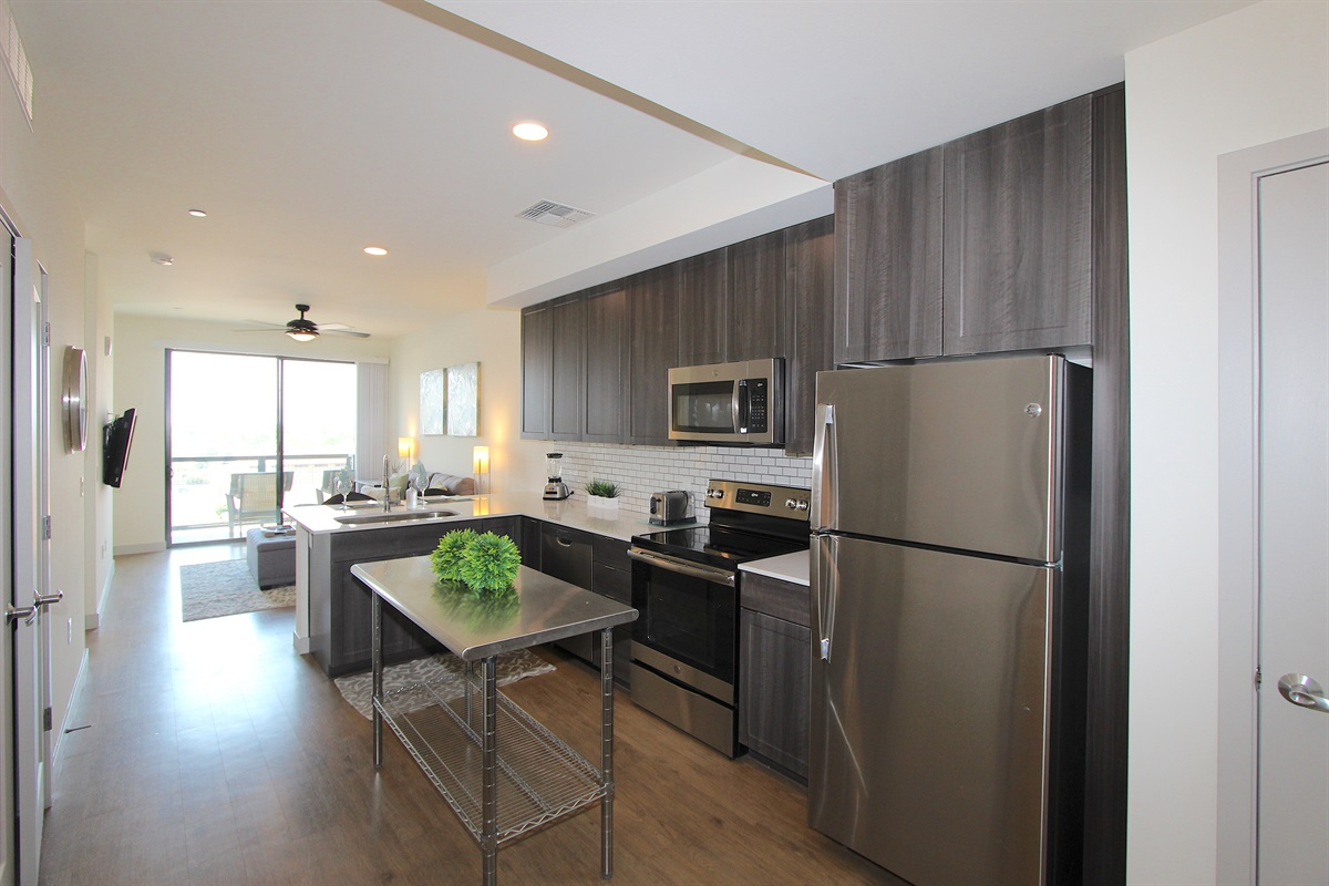 Fully Accessorized Kitchen with CITY Views