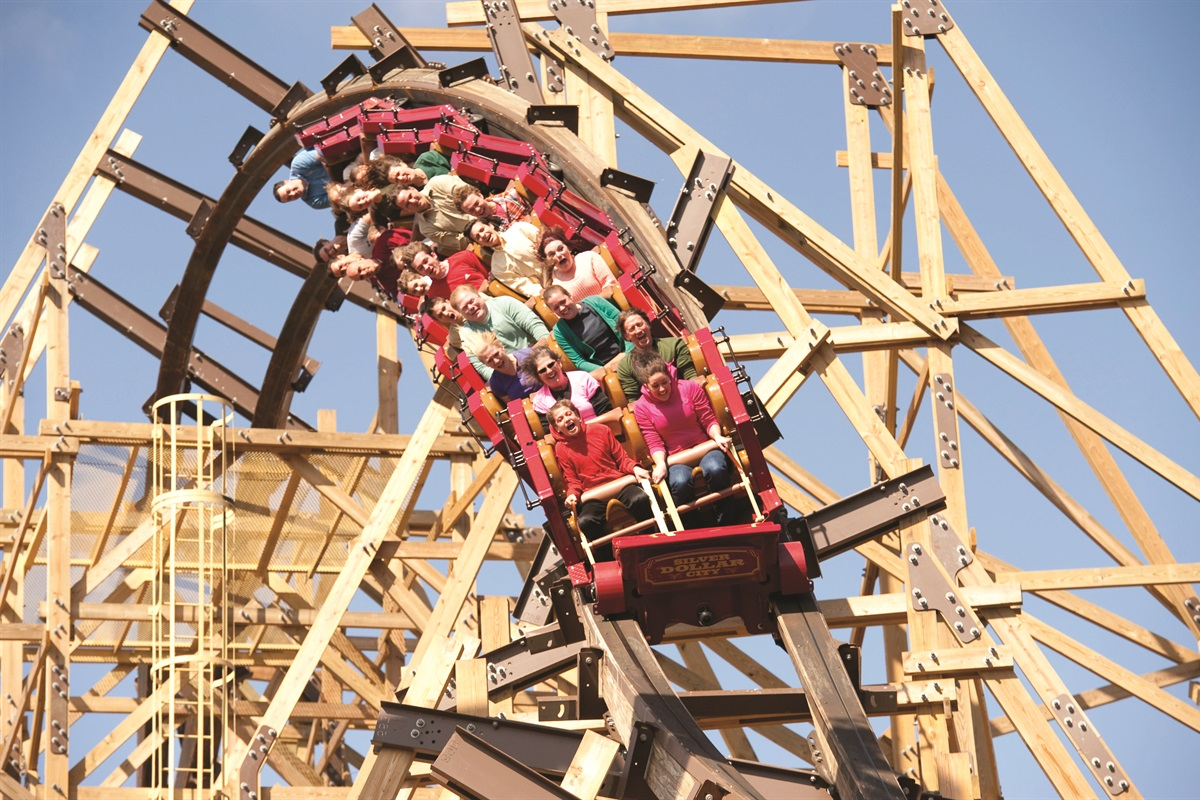 Silver Dollar City is one of the top theme parks in the country! Enjoy a trip back to 1880 and experience music, authentic craftsmanship, and--of course--rides!