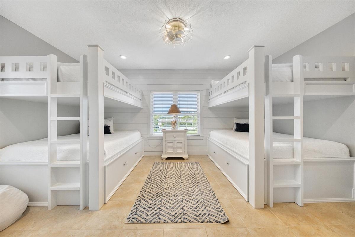 Second Floor - Bunk Bedroom