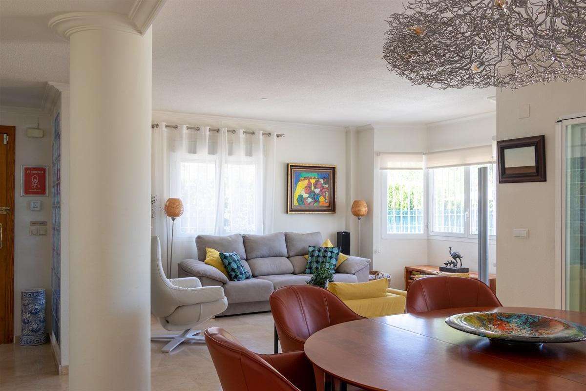 Livingroom villa