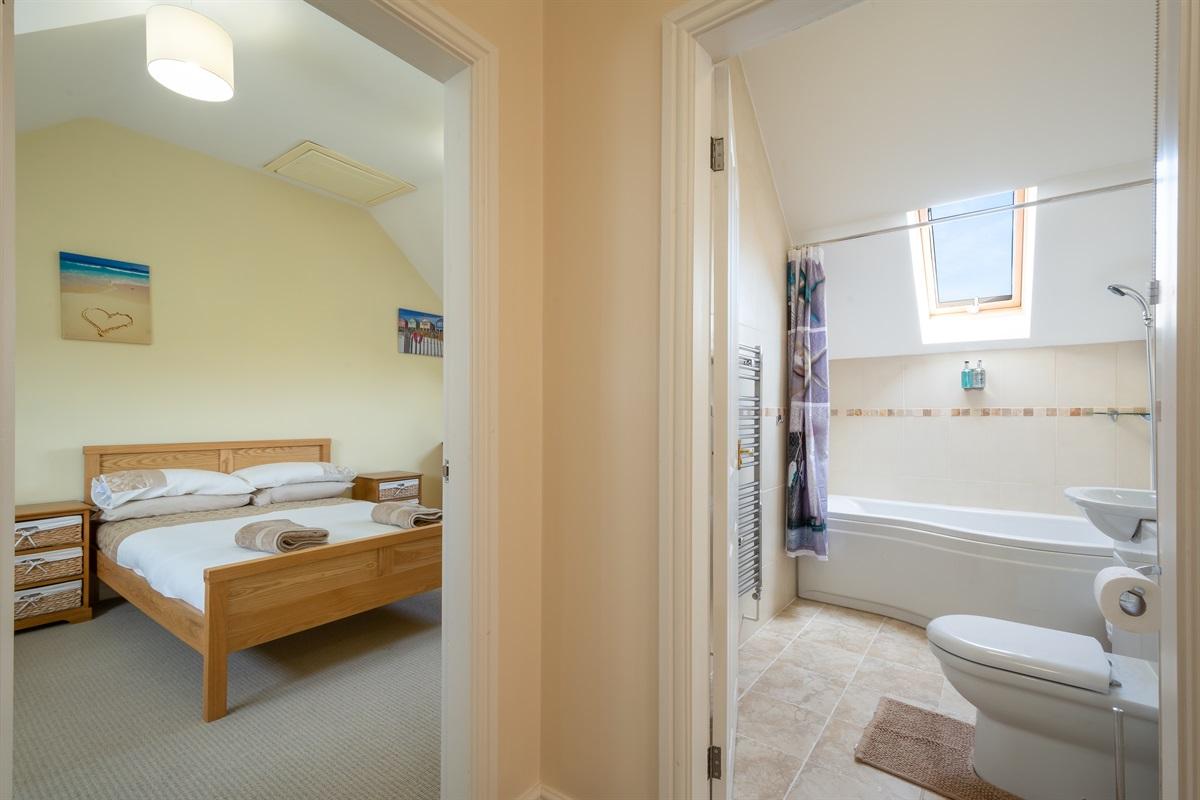 Master bedroom & Family Bathroom