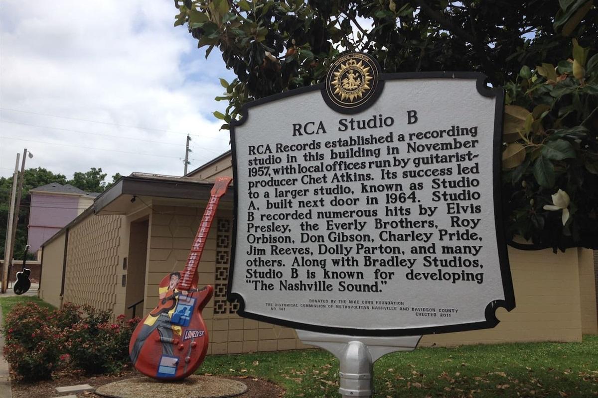 Check out the history at RCA Studio B!