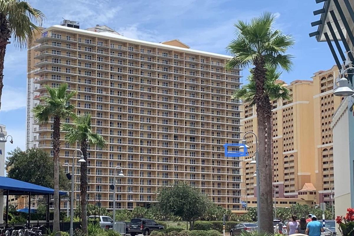 Location of condo on 10th floor