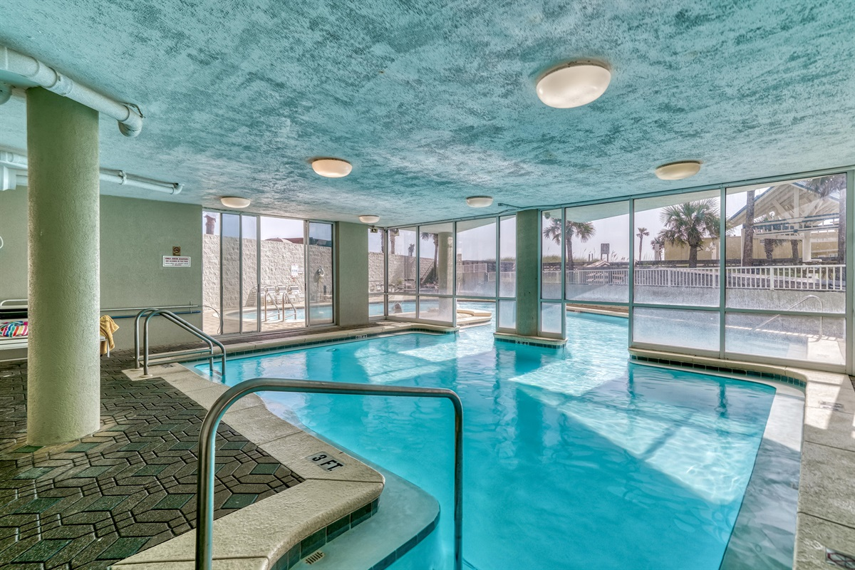 Indoor Pool side