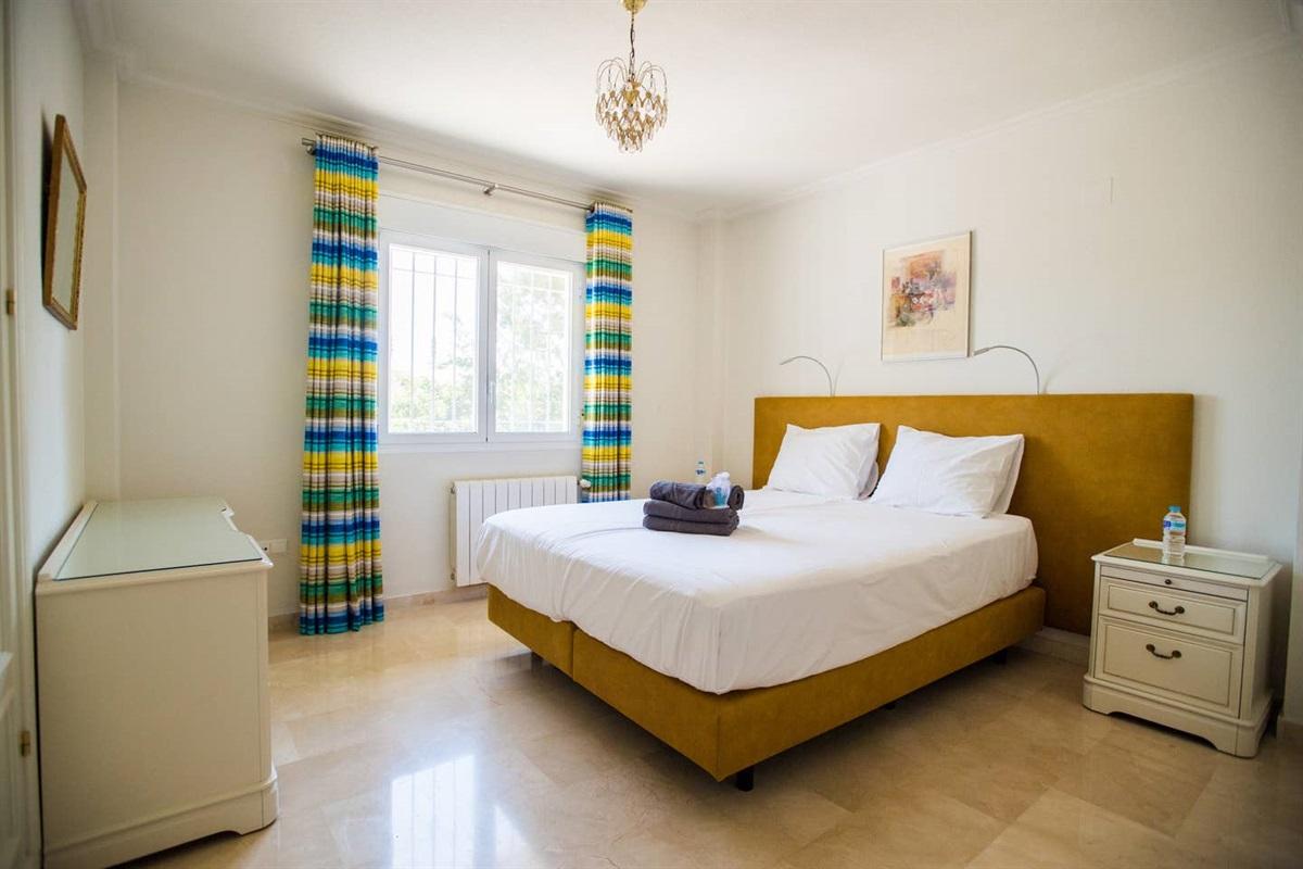 Masterbedroom villa