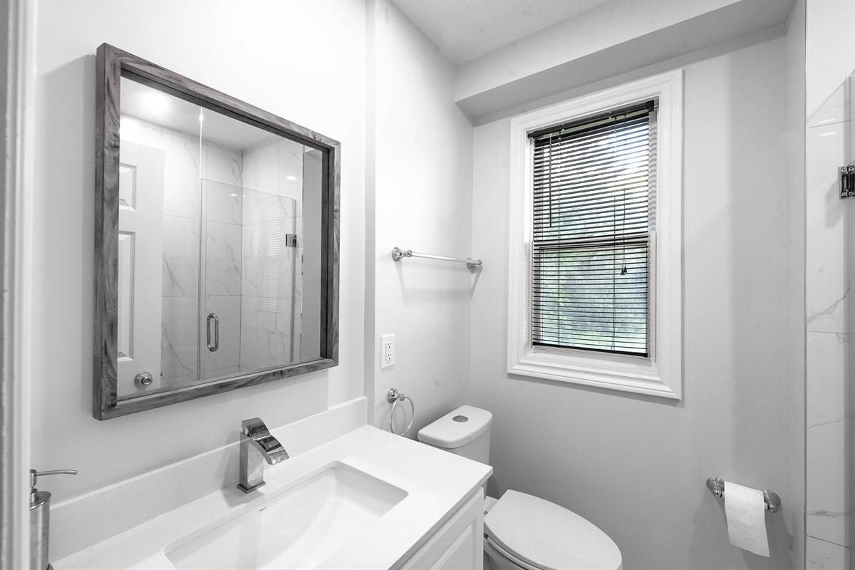 Newly renovated bathroom #1