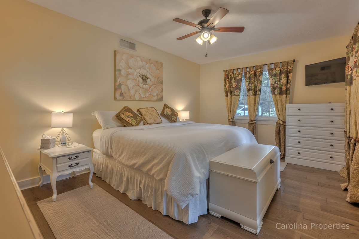 Additional view of lower level king bedroom