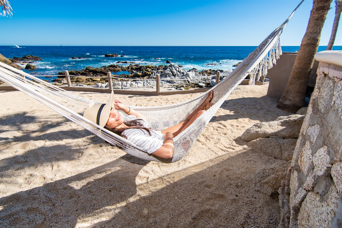 Relax at the beach of Santa Carmela