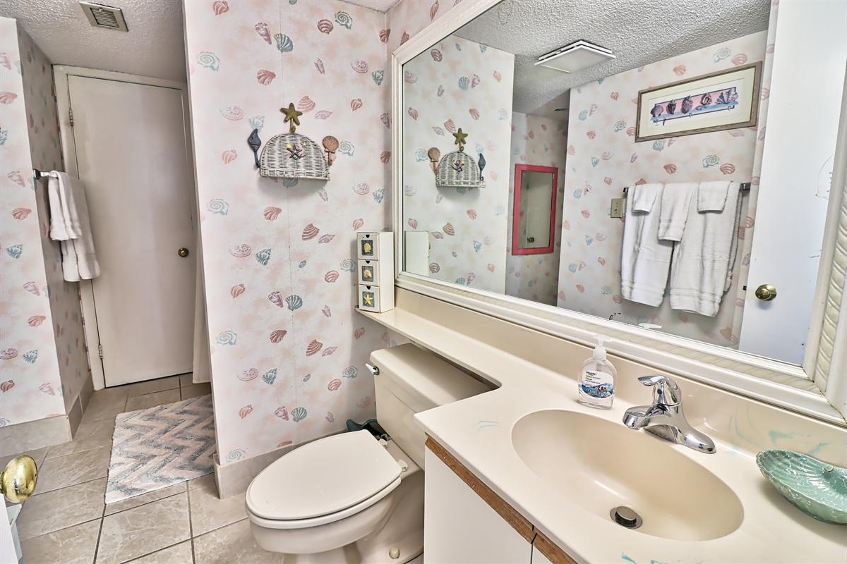 Tub/shower 2nd bath
