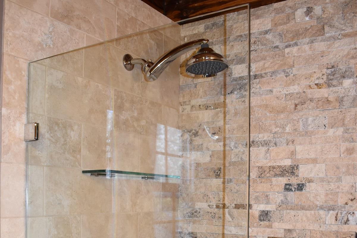 First floor full bath walk-in shower
