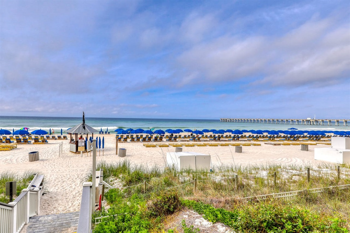 Free Beach Service in Season
