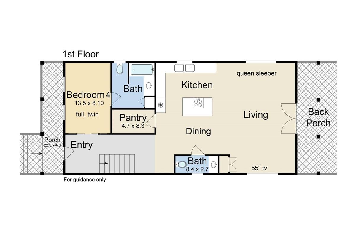 Floor plan, ground floor.
